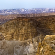 Stock Photo: Mountain Canyon near Dead Sea