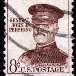 Stamp With General John J. Pershing — Stock Photo