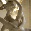 Marble sculpture Cupid and Psyche — Stock Photo