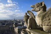 Stone guards Paris — Stock Photo