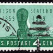 Oregon Statehood , Centenary — Stock Photo