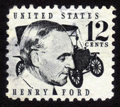 Portrait Henry Ford — Stock Photo