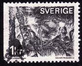矿工在采煤工作面 — 图库照片