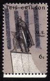 Statue of Leif Erikson — Stock Photo