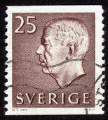 Gustav VI Adolf, King of Sweden — Stock Photo