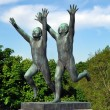 Sculpture of children in Vigeland park, Oslo — Stock Photo