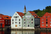 Trondheim in Norway — Stock Photo
