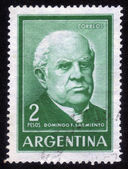 Domingo Faustino Sarmiento — Stock Photo