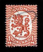 Brasão de armas da finlândia — Foto Stock