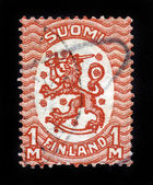 Wappen finnlands — Stockfoto