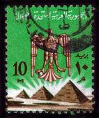 Aigle, armoiries de l'Égypte — Photo