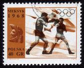 拳击在墨西哥奥林匹克运动会 — 图库照片