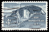 The homestead act — Stock Photo