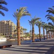 Eilat - a resort on the Red Sea, Israel - Stock Photo