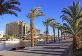 Eilat - a resort on the Red Sea, Israel — Stock Photo
