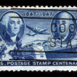 Stock Photo: US Postage Stamp Centenary