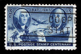 US Postage Stamp Centenary — Stock Photo