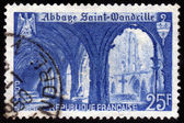 Abbey of Saint Wandrille — 图库照片