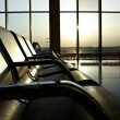 Stock Photo: Airport lounge