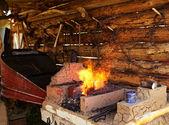 Traditionele smid kachel — Stockfoto