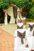 Wedding arch — Stock Photo