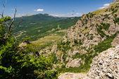 Hillside, Crimea, Ukraine — Stock Photo