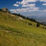 Mountain plateau, Crimea, Ukraine — Stock Photo #11490846