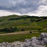 Mountain plateau, Crimea, Ukraine — Stock Photo #11491398