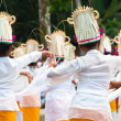 Legong dancers — Stock Photo