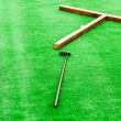 Mini golf field — Stock Photo
