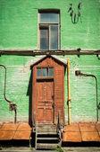 Oud huis in kiev — Stockfoto