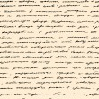 Hand written text. Vector seamless background — 图库矢量图片