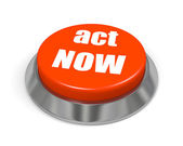 Button act Now — Stock Photo