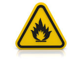 Fire! sign — Stock Photo