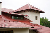 Roof of the house — Stockfoto