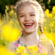 Charming little girl — Stock Photo #10853956