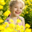 Stock Photo: Charming little girl