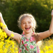 Little girl having fun — Stock Photo #10853974