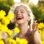 Charming cheerful girl — Stock Photo #10853979
