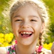 Funny little girl — Stock Photo #10853984