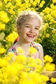 Charming little girl — Stock Photo