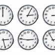 Wall clock with number thirteen — Stock Photo #11060337