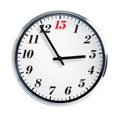 Five to thirteen hours — Stock Photo