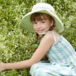 Pretty girl in the hat — Stock Photo #12186605