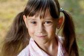 Urocze dziewczynki — Zdjęcie stockowe