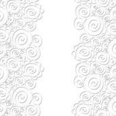 Dikişsiz soyut kıvırcık dalga deseni — Stok Vektör