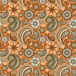 Seamless elegant paisley pattern — Stock Vector #11460270
