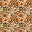 Seamless elegant paisley pattern — Stock Vector #11460270