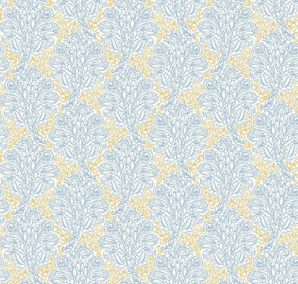 vector seamless renaissance wallpaper - photo #13