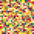 Colorful pixel pattern — Stock Vector
